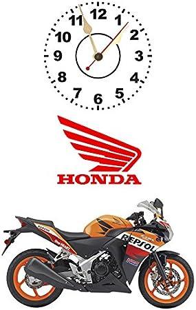 Reloj con Repsol Honda CBR250R #KCL31: Amazon.es: Hogar