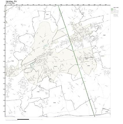 Amazon.com: ZIP Code Wall Map of Hershey, PA ZIP Code Map ... on map camp hill pa, map edinboro pa, map downingtown pa, map honey brook pa, map bensalem pa, map wilkes-barre pa, map macungie pa, map of hershey park and surrounding area, map gettysburg pa, map fairfield pa, map latrobe pa, map honesdale pa, map venango county pa, map allentown pa, map reading pa, map springfield pa, map lewisberry pa, map steelton pa, map susquehanna township pa, map johnstown pa,