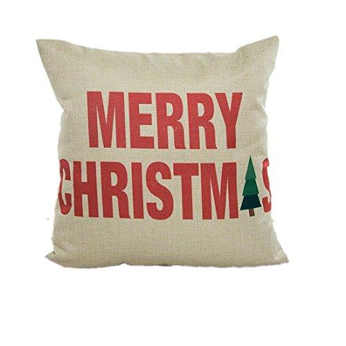beautyvan soft christmas pillow case sofa waist throw cushio