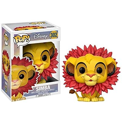 Funko Pop Disney Lion King-Simba (Leaf Mane) Toy: Funko Pop! Disney:: Toys & Games