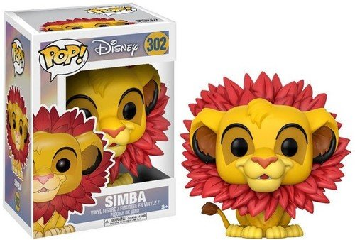 Funko Pop Disney Lion King-Simba (Leaf Mane)