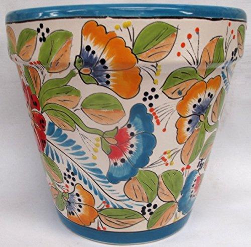 TALAVERA VASO PLANTER SPRING by Talavera Pottery Store