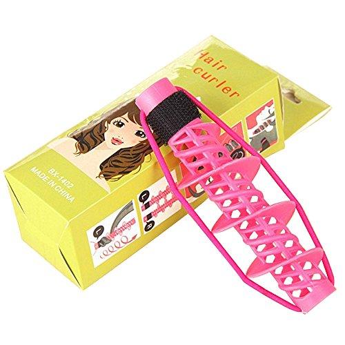 EYX Formula 6 Pcs Fashion Hair Roller DIY Hair Style at Home Hair Curler ,Curly sticks Hairdressing Tool Hair Accessories for Girls Women Ladies