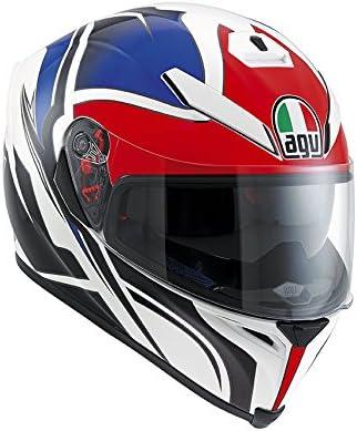 AGV XS Casco Hurricane Nero//Gunmetal//Bianco