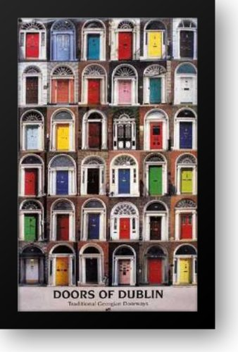 Doors of Dublin 16x24 Framed Art Print by Real ireland & Amazon.com: Doors of Dublin 16x24 Framed Art Print by Real ireland ...