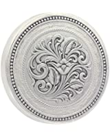 Montana Silversmiths Men's New Traditions Stars And Barbed Wire Snuff Lid - Lid8nf