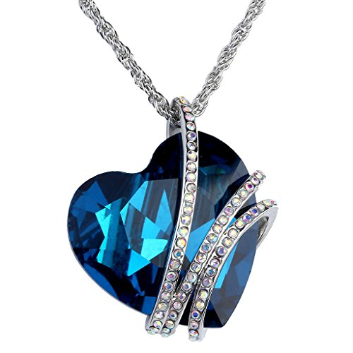 Jovivi Valentines Gifts Necklace Crystals