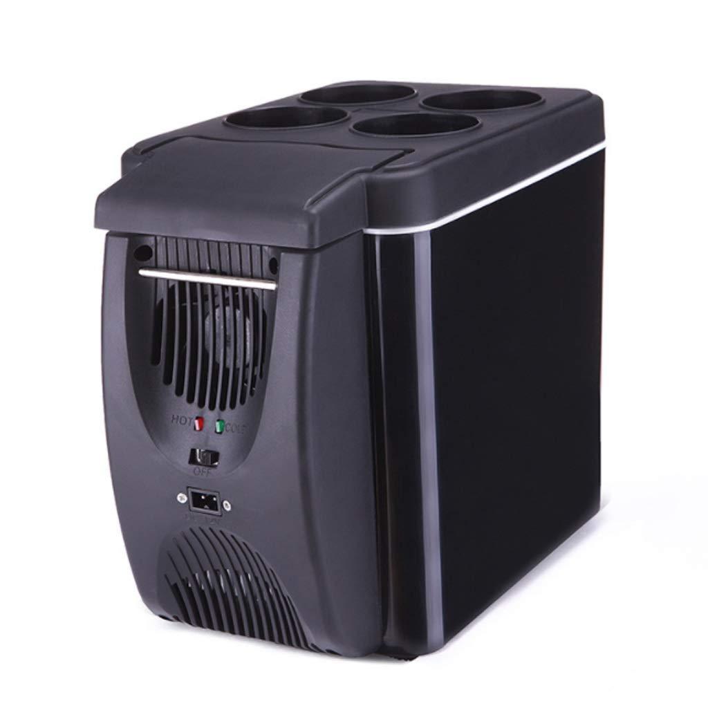QPZMN 6L Car Refrigerator, Small Micro Refrigeration, Mini Refrigerator, Environmentally Friendly Mute 17.5cm 30cm 25.5cm