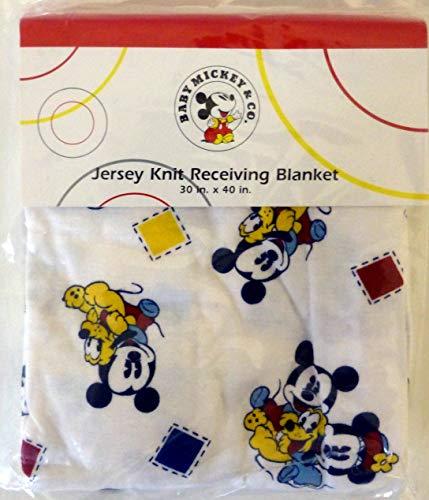 Disney Baby Mickey & Co. Jersey Knit Receiving Blanket