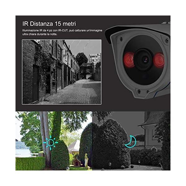 Telecamera Wifi Esterno (1080P) 2 spesavip