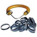 50 Pack - Low Temperature PVC Shrink Rings for Speargun Bands (select size)