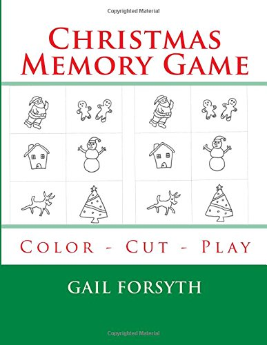 Download Christmas Memory Game: Color - Cut - Play PDF