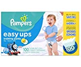 Pampers Easy Ups Training Pants Diapers for Boys Value Pack Size 2T3T 100 Count New!!!