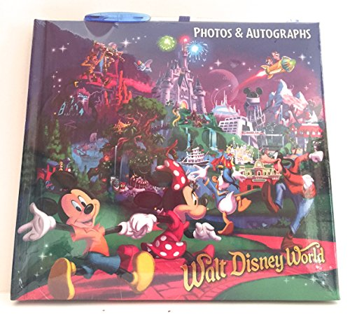Albums Disney Autograph (Walt Disney World Storybook at Night Character Photo Album Autograph Book Pen)