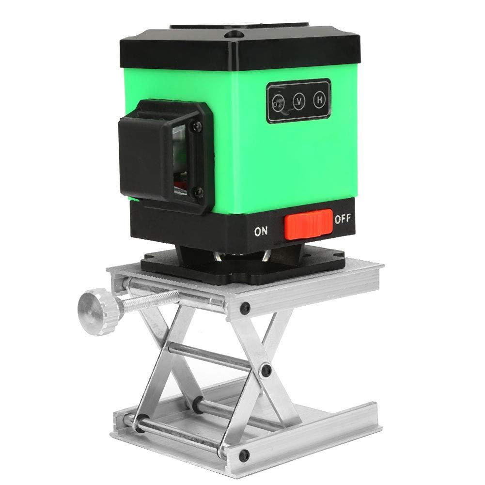 Adjustable 3.53.5inch Lab Lift Platform Bracket Rack Scissor Lab Lifter Lab Jack Lift Stand for Level Lab Equipment