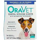 Oravet 14 Count Oravet Dental Hygiene Chew for Small Dogs