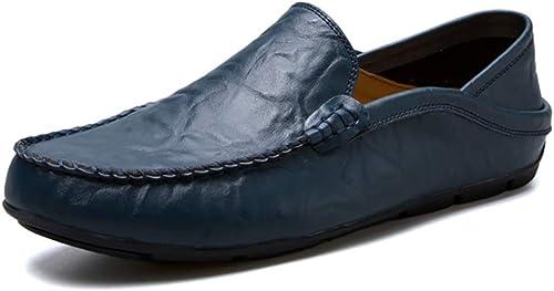 Herren Loafers Moccasins Slipper Segelschuhe Bootsschuhe Halbschuhe Fahrschuhe