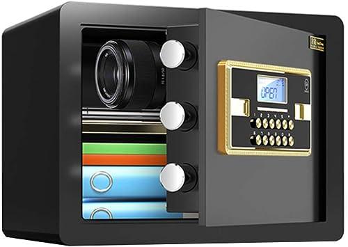 Caja fuerte Caja de Seguridad para El Hogar, Caja de Seguridad Electrónica Digital Mini, Gabinetes de Caja de Seguridad, Caja Fuerte para Dinero, Joyas, Objetos de Valor En Efectivo: Amazon.es: Bricolaje y