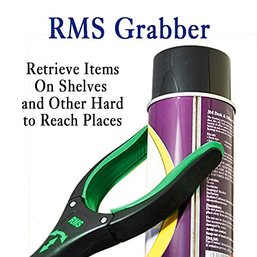 RMS 26'' Grabber Reacher   Rotating Gripper   Mobility Aid Reaching Assist Tool   Trash Picker, Litter Pick Up, Garden Nabber, Arm Extension   Ideal for Wheelchair and Disabled (Green) by RMS Royal Medical Solutions, Inc. (Image #5)