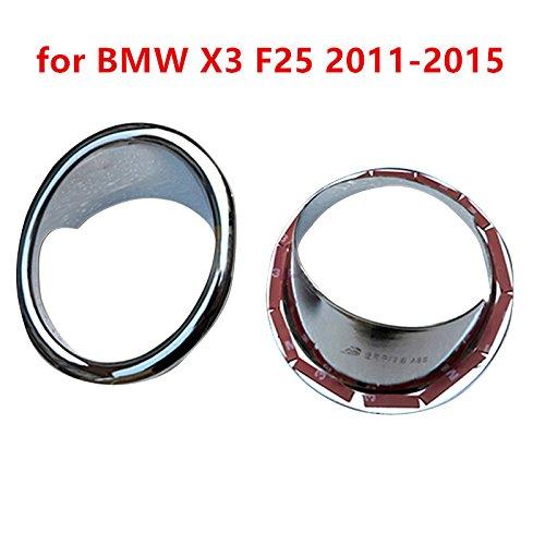 Front Fog Lights Lamp Cover Trim Decoration Chrome ABS YUZHONGTIAN Auto Trims Co. Ltd