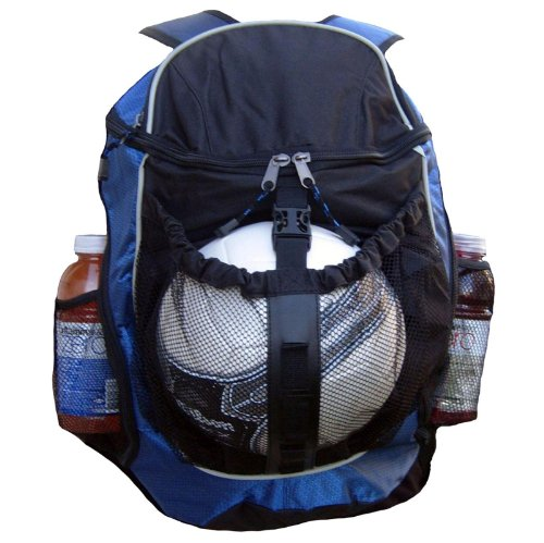 Sport Backpack - Basketball Backpack, Soccer Ball Backpack, Volley Ball Backpack (Blue)