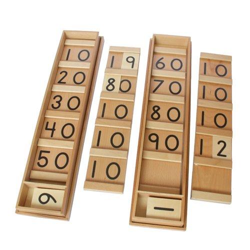 Montessori Teen & Ten Boards Set