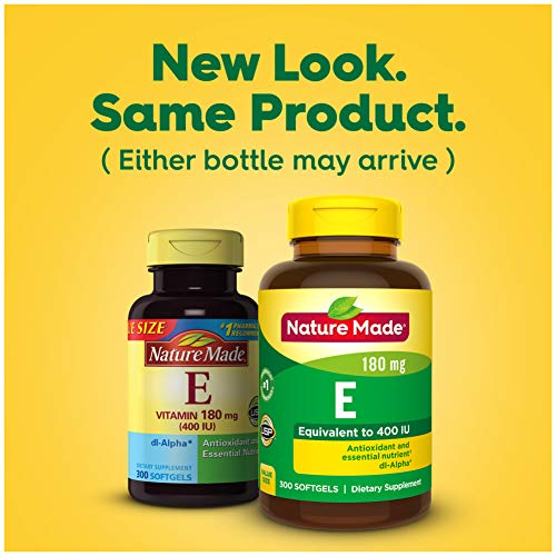 Nature Made Vitamin E 400 IU Softgels
