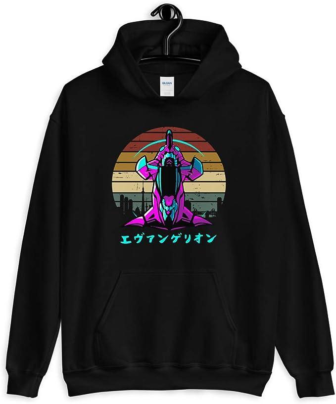 Neon Genesis Evangelion EVA Clothing Hooded Sweatshirt Casual Hoodie Coat