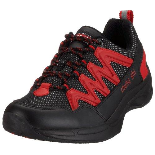 Holiday shi Hommes noir Chaussures Pour Nordique De Marche Noir Balance Rouge Step Chung Schwarz wd0n7Txqd