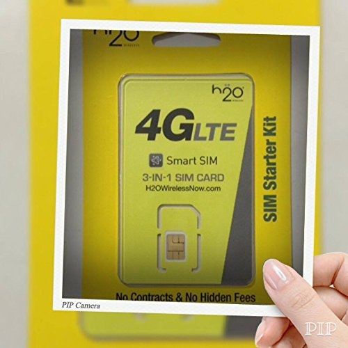 Any Gsm Sim Card (H2o H20 Wireless Nano SIM Card for Any Unlocked GSM Phone Iphone 5, 5c, 5s, 6, 6 Plus, and Ipad Air w/ $30 Plan Unlimited Talk, Text. 500 Mb Web, $10 International Calling)