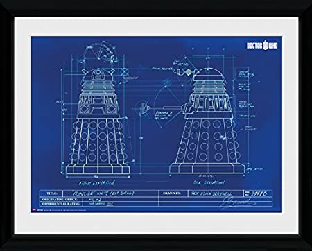Gb eye 16 x 12 inch doctor who dalek blueprint framed photograph gb eye 16 x 12 inch doctor who dalek blueprint framed photograph assorted malvernweather Image collections