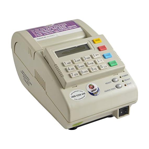 WEP BP-20 Standalone Billing Machine (White) 2