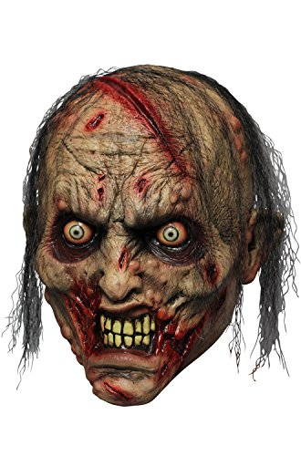 Rotting Zombie Biter Adult Mask ()