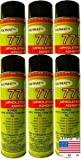 QTY 6 POLYMAT 777 Spray Glue Multipurpose Adhesive for Installing Foam Panels in music studio
