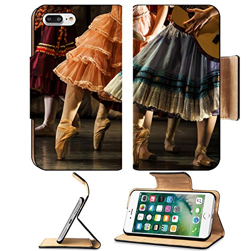 Israel Costume Ideas (Liili Premium Apple iPhone 7 Plus Flip Pu Leather Wallet Case dancers in ballet shoes Photo 20948034 Simple Snap Carrying)