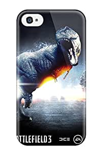 Hard Plastic Iphone 4/4s Case Back Cover,hot Battlefield 3 Dinosaur Mode Case At Perfect Diy