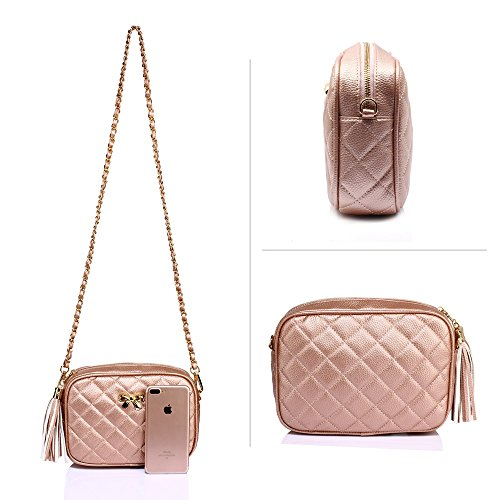Cross Body Ladies Over Champagne New Bags Design Crossbody Handbag Shoulder Messenger Womens 1 fw44E1xq