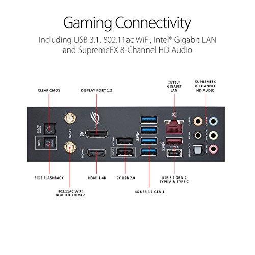 ASUS ROG Maximus X Hero LGA1151 (Intel 8th Gen) DDR4 DP HDMI M.2 Z370 ATX Gaming Motherboard with onboard 802.11ac WiFi, Gigabit LAN and USB 3.1 (Certified Refurbished)