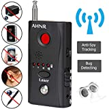 RF Bug Detector, Anti Spy Hidden Camera Detector, AHNR Wireless Signal Pinhole Laser Lens GSM Detector Ultra-high Sensitivity Full-Range Tracker Finder
