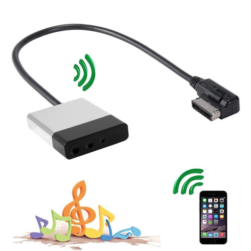 CY Media C/âble Adaptateur Audio auxiliaire AMI MDI vers Bluetooth pour Voiture VW Audi A4 A6 A8 3G 2G