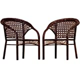 Cheap Best Selling Wicker Club Chair, 2-Pack
