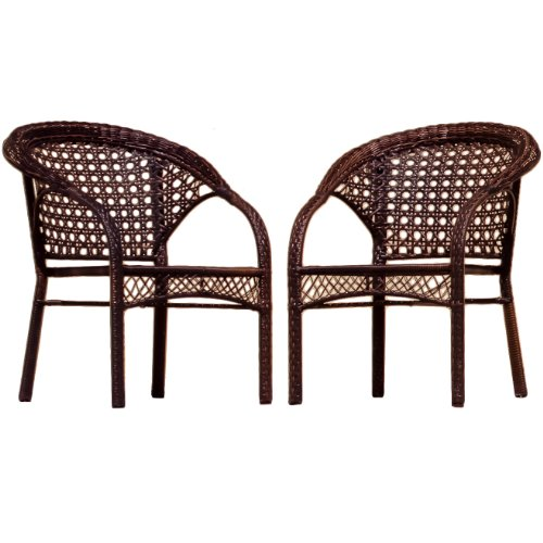 Best-selling Wicker Club Chair, 2-Pack