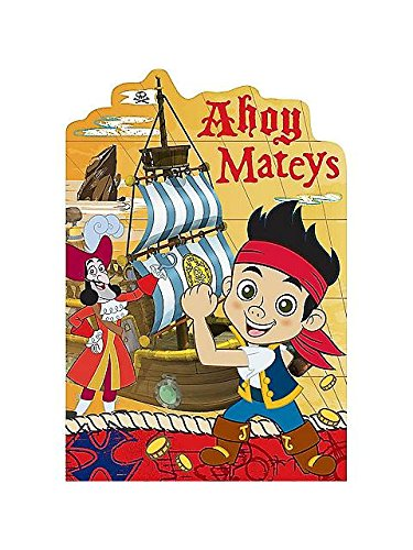 Jake And Neverland Pirates Postcard Invitations (8 Pack) - Party -