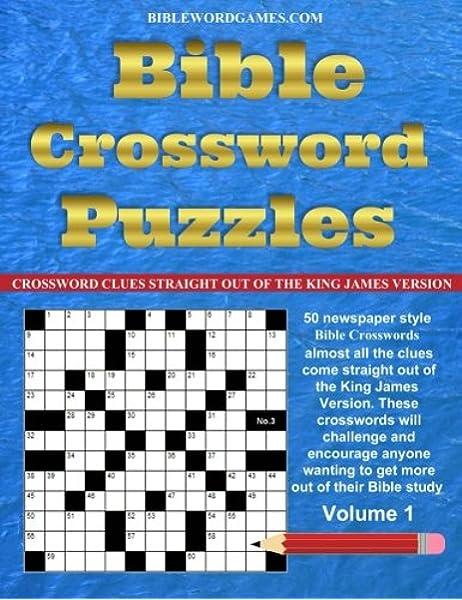 Bible Crossword Puzzles Volume 1 Watson Gary 9781517193898 Amazon Com Books