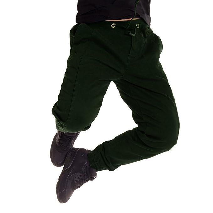 Cebbay Liquidación Pantalones de chándal para Hombres Elástico ...