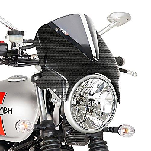 Carenabris Honda CB 500 94-03 Puig Vision carbono-ahumado