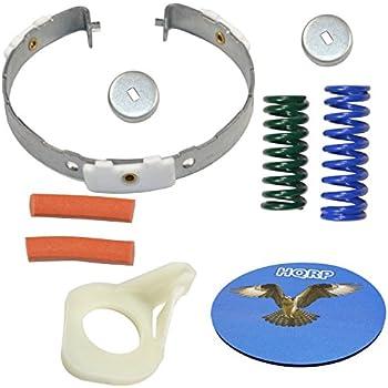 HQRP Cam Clutch Kit for Maytag MVW18CSAWW0 MVW18CSBWW0 HQRP Coaster MVW18PDBWW0 Washer Drive Pulley MVW18MNAWW0 MVW18PDAXW0 MVW18MNBWW0 MVW18PDAWW0