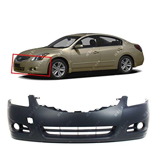 MBI AUTO - Primered, Front Bumper Cover Fascia for 2010 2011 2012 Nissan Altima Sedan 10 11 12, -