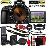 Nikon COOLPIX P1000 Digital Camera Base Kit International Model - New - 125x Zoom - 16MP