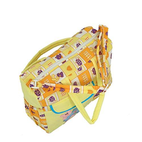 Kuber industrias bolsa de pañales, bolsa de cambiar pañales, bolsa de la Mamma (amarillo)